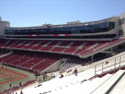 Razorback Stadium, section: 103, row: 44, seat: 20