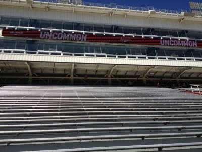 Razorback Stadium section 102
