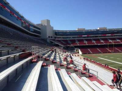 Razorback Stadium section 111