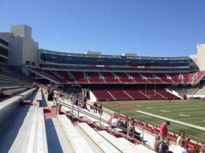 Razorback Stadium section 112