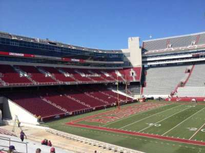 Razorback Stadium section 115
