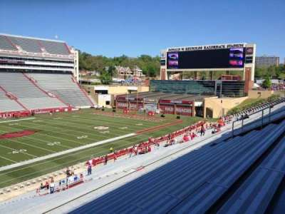 Razorback Stadium section 116