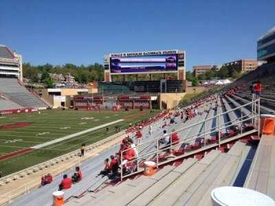 Razorback Stadium, section: 117, row: 22, seat: 20