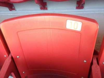 Razorback Stadium, section: 121, row: 22, seat: 10