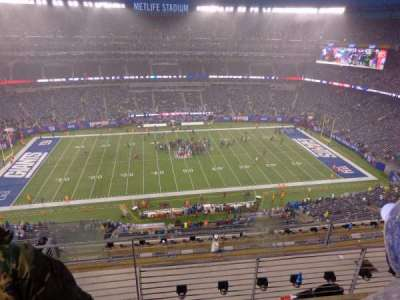 MetLife Stadium, section: 340, row: 21, seat: 9