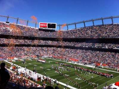 Sports Authority Field at Mile High, section: 302, row: 8