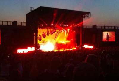 Fiddler's Green Amphitheatre, section: 204, row: G, seat: 23