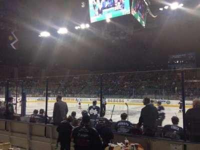 Denver Coliseum section 126