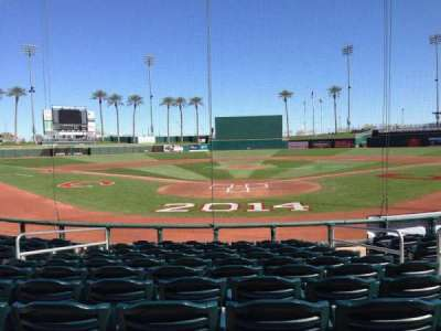 Goodyear Ballpark, section: 112, row: L, seat: 5