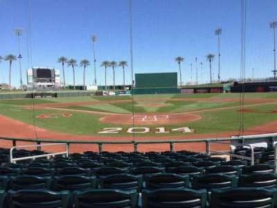 Goodyear Ballpark section 112