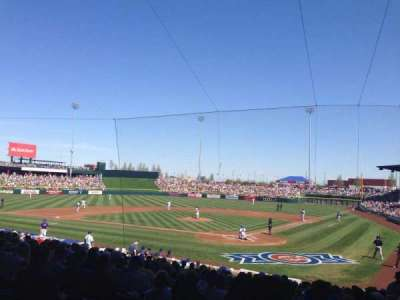 Sloan Park, section: 110, row: 22, seat: 17