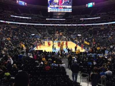 Pepsi Center, section: 138, row: 15, seat: 3