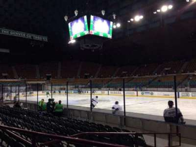 Denver Coliseum, section: 106, row: 2, seat: 7
