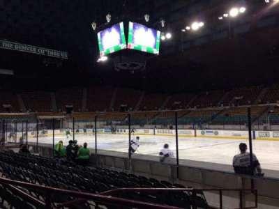 Denver Coliseum, section: 106, row: 2, seat: 7