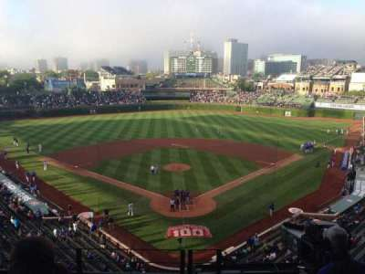 Wrigley Field section 421