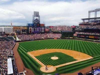 Coors Field, section: L329, row: 5, seat: 5