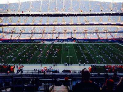 Empower Field at Mile High Stadium section 308