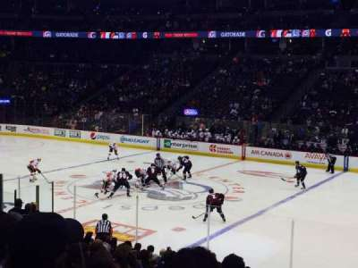 Pepsi Center, section: 122, row: 18, seat: 5