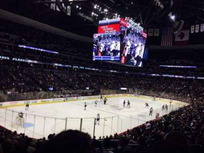 Pepsi Center, section: 132, row: 22, seat: 6