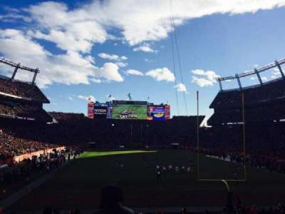 Sports Authority Field at Mile High, section: 115, row: 25, seat: 8
