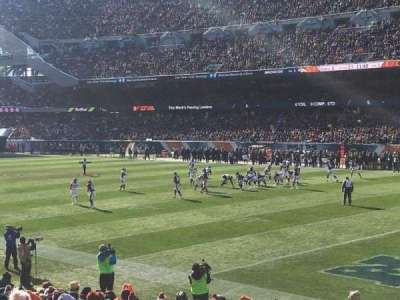 Soldier Field, section: 101, row: 16, seat: 4