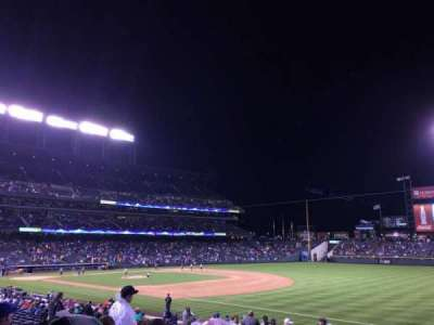 Coors Field, section: 117, row: 29, seat: 3