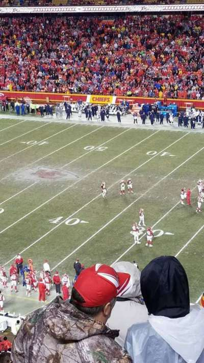 Arrowhead Stadium, section: 320, row: 14, seat: 19-16