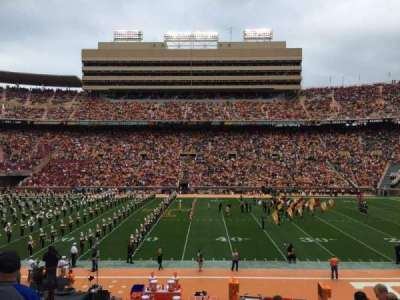 Neyland Stadium, section: T, row: 19, seat: 15