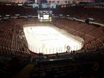 Joe Louis Arena, section: 216a, row: 18, seat: 15
