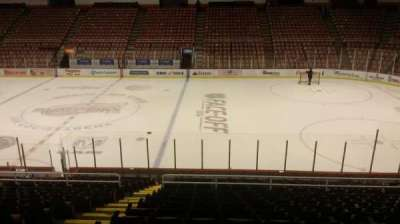 Joe Louis Arena, section: 106, row: 18, seat: 15