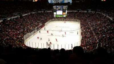 Joe Louis Arena, section: 213b, row: 23, seat: 27