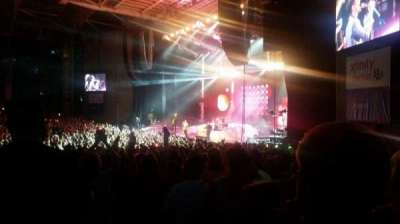 Xfinity Center, section: SEC 1, row: HH, seat: 13