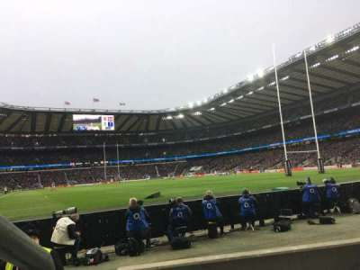 Twickenham Stadium section L36
