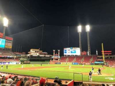 Great American Ball Park section 120