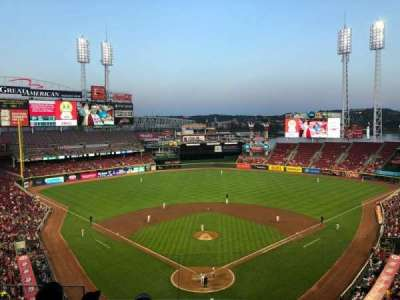 Great American Ball Park, section: 422, row: E, seat: 15