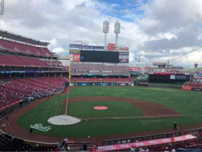 Great American Ball Park section CLBCAM