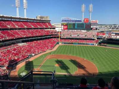 Great American Ball Park section 530