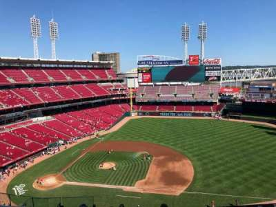 Great American Ball Park section 531