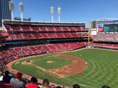 Great American Ball Park section 433