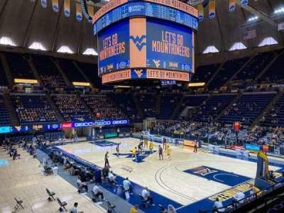 WVU Coliseum section 104