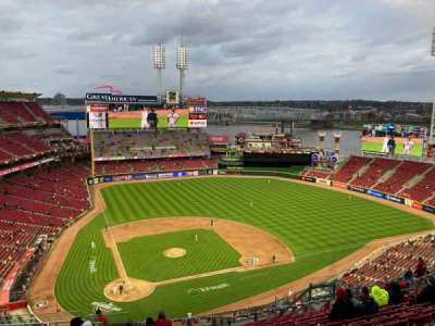 Great American Ball Park, section: 527, row: P, seat: 17