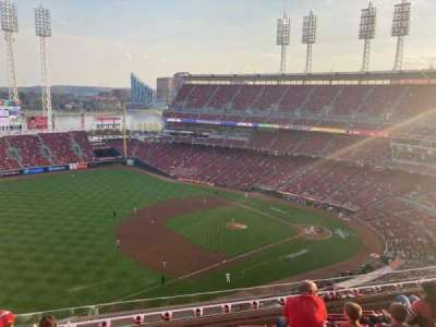 Great American Ball Park, section: 514, row: G, seat: 18