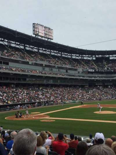 Guaranteed Rate Field, section: 124, row: 19, seat: 2