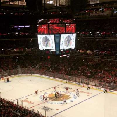 United Center, section: 331, row: 5, seat: 3
