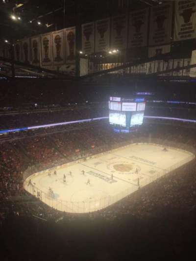 United Center, section: 322, row: 15, seat: 18