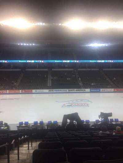 Sears Centre, section: C102, row: 16, seat: 1