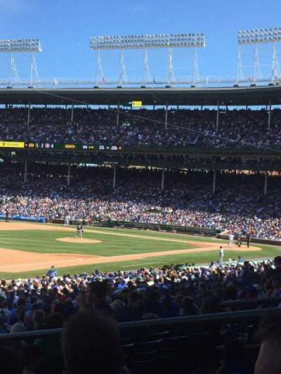 Wrigley Field, section: 206, row: 5, seat: 9