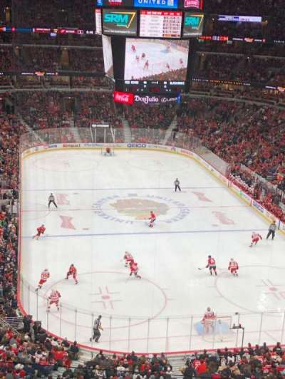 United Center, section: 310, row: 5, seat: 13