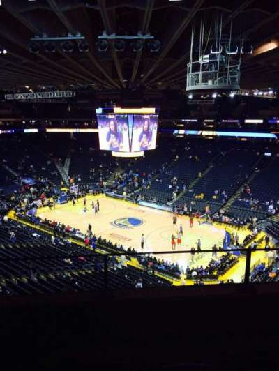 Oracle Arena, section: 213, row: 3, seat: 3