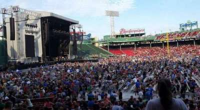 Fenway Park, section: Loge Box 161, row: MM, seat: 5